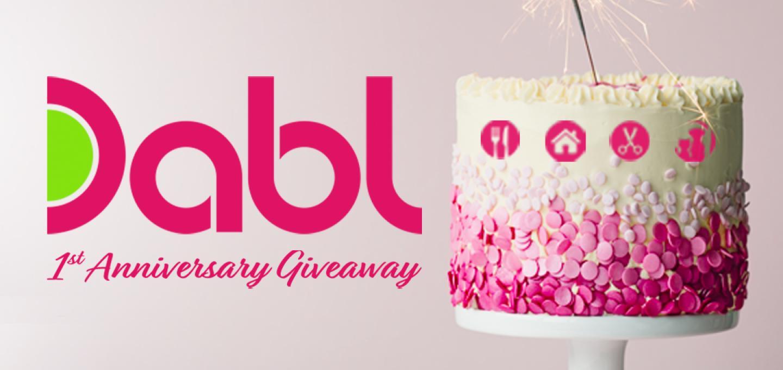 Dabl 1st Anniversary Giveaway