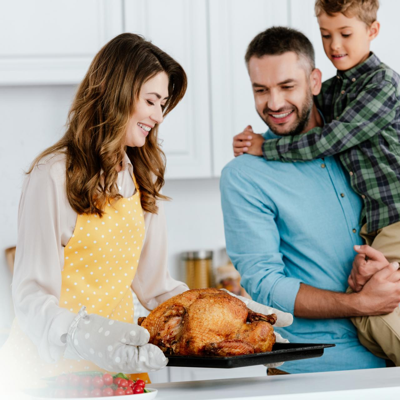 Small Thanksgiving Gathering