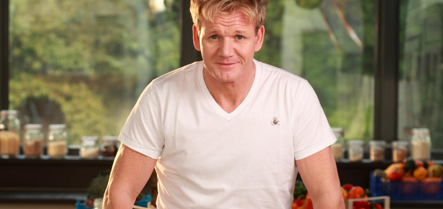 Gordon Ramsay host of Ultimate Home Cooking