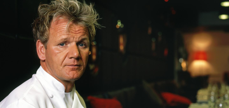 Gordon Ramsay star of Kitchen Nightmares