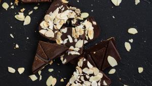 Chocolate Bark with Almond
