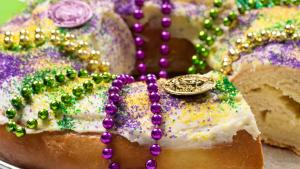 Fat Tuesday King Cake