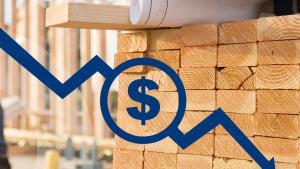 Lumber prices falling