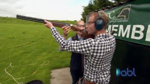 Jonnie Irwin Trap Shooting with Abbey Instructor ETTC