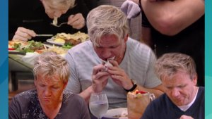 Top 5 Times Gordon couldn't stomach the food collage