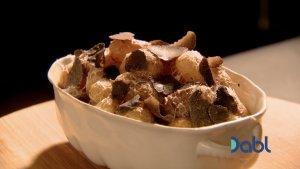 Gordon's baked truffle potatoes