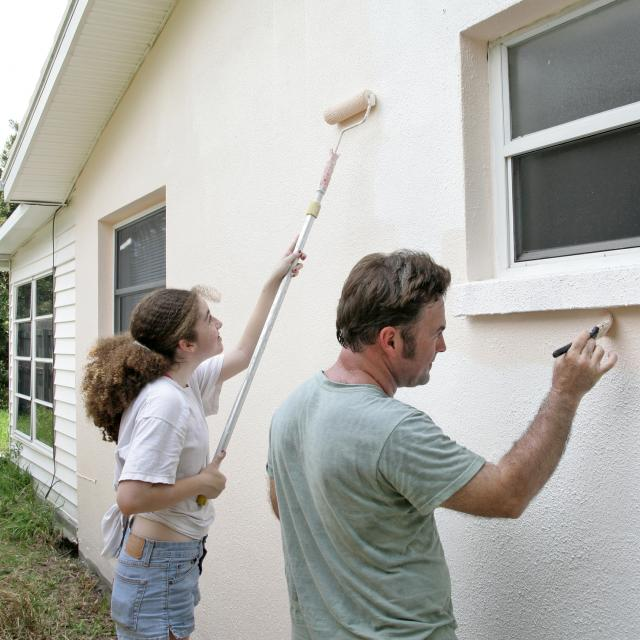 Painting House Curb Appeal