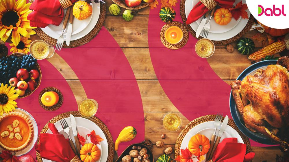 Thanksgiving Dabl Zoom Background