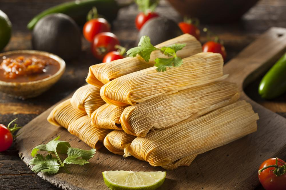tamales on a plate
